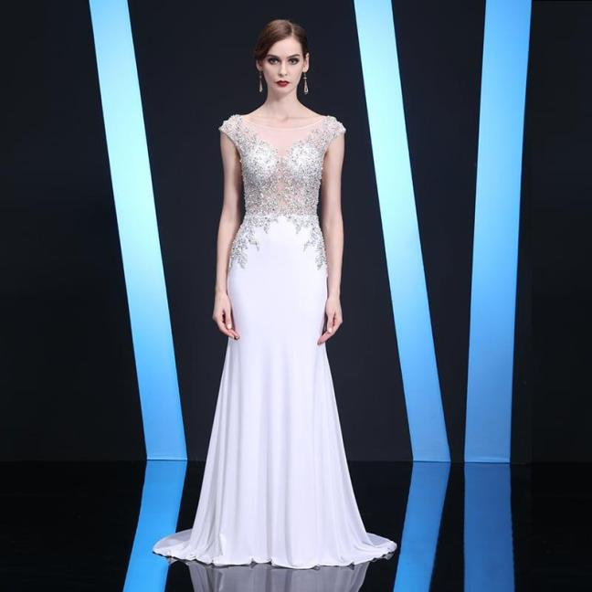 0101-1-white-cap-sleeve-evening-gown-for-pageant-by-Darius-Cordell