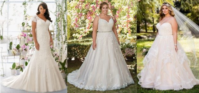 Bridal-Plus-Size-Wedding